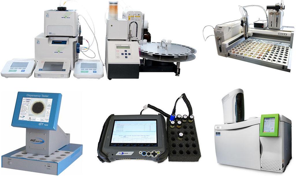 Лабораторное оборудование анализа масла